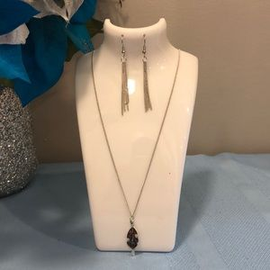 "Paparazzi ""frozen in fall"" necklace"